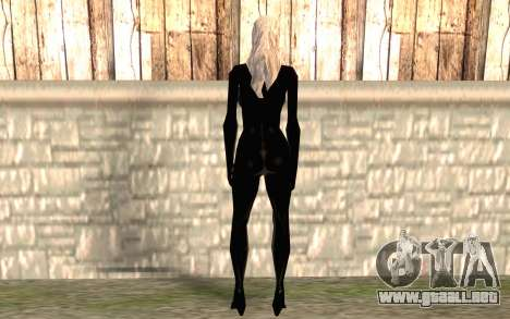 Gato negro HD para GTA San Andreas segunda pantalla