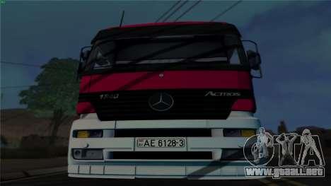Mercedes-Benz 1840 para GTA San Andreas left