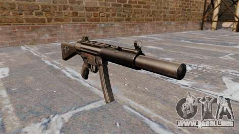 Ametralladora HK MP5SD2 para GTA 4