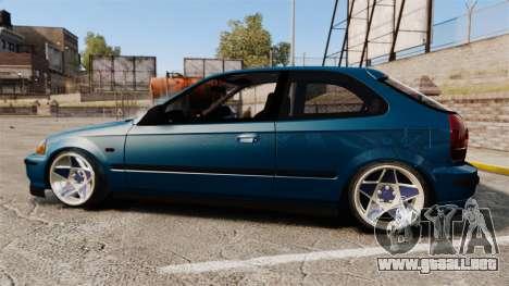 Honda Civic EK para GTA 4 left
