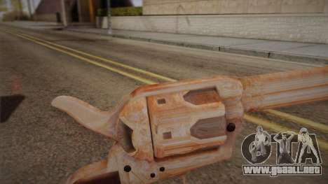 Colt Peacemaker (cromo) para GTA San Andreas segunda pantalla