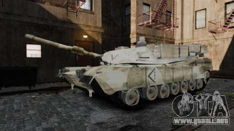 Estilo de escritura del tanque V para GTA 4 quinta pantalla