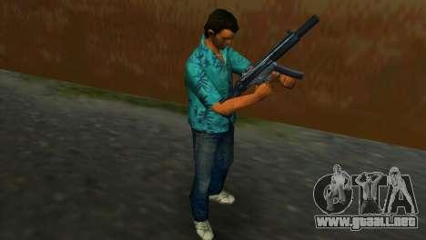 MP5SD para GTA Vice City sucesivamente de pantalla