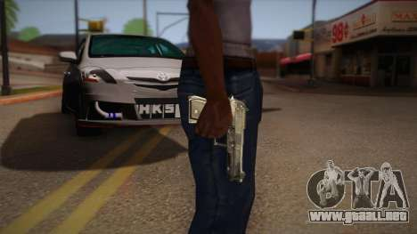 El arma de la Max Payne para GTA San Andreas segunda pantalla