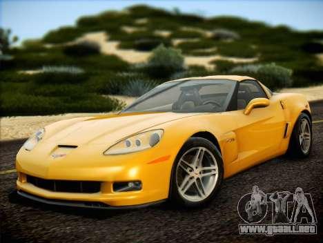Chevrolet Corvette Z06 2006 v2 para GTA San Andreas