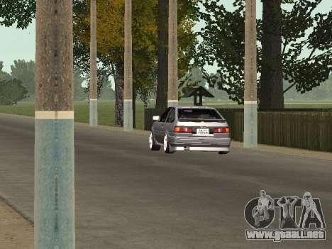 Toyota Corolla GTS Drift Edition para GTA San Andreas vista hacia atrás
