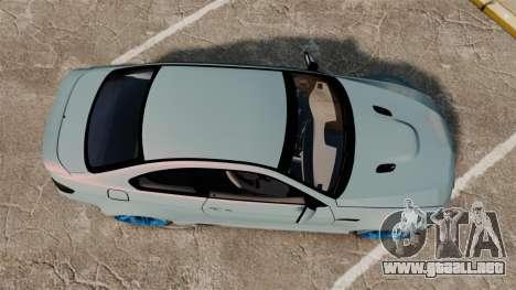 BMW M3 GTS Widebody para GTA 4 visión correcta