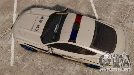 Ford Mustang GT 2015 Cheng Guan Police para GTA 4 visión correcta