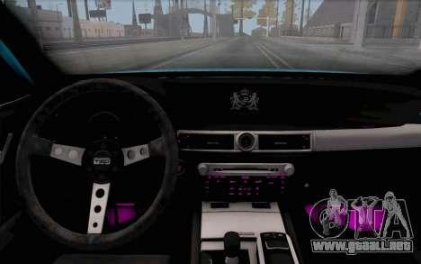 Toyota Aristo para la visión correcta GTA San Andreas