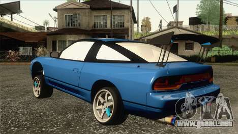 Nissan Sil80 para GTA San Andreas left