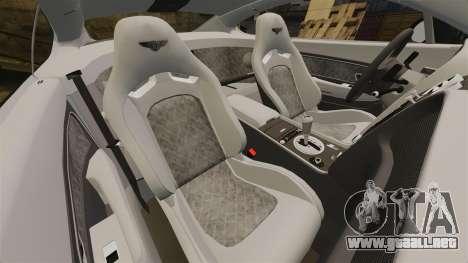Bentley Continental SS v3.0 para GTA 4 vista lateral
