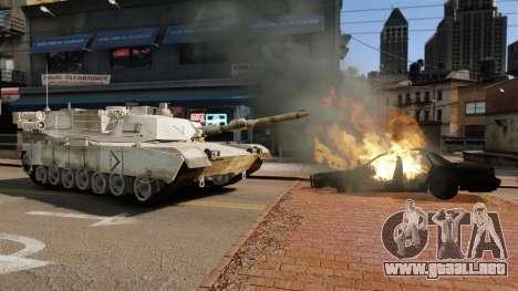 Estilo de escritura del tanque V para GTA 4 tercera pantalla