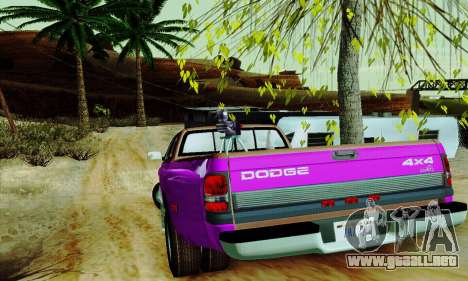 Dodge Ram 3500 para GTA San Andreas interior