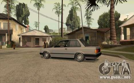BMW E30 Stance para GTA San Andreas left