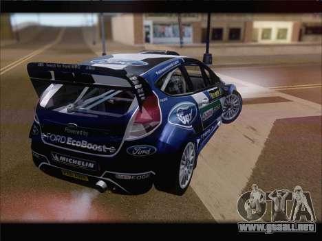Ford Fiesta RS WRC 2013 para GTA San Andreas left