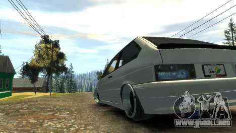 2113 VAZ para GTA 4 vista lateral