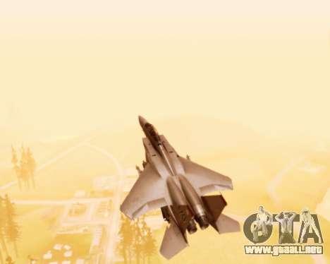 F-15E Strike Eagle para la vista superior GTA San Andreas