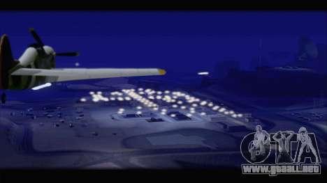 Project 2dfx v1.5 para GTA San Andreas sexta pantalla