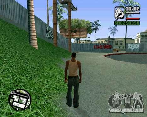 Nuevo HD Skate Park para GTA San Andreas octavo de pantalla