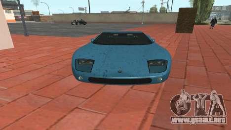 Monroe de GTA 5 para GTA San Andreas vista posterior izquierda