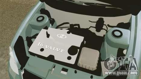 Vaz-2170 Lada Priora para GTA 4 vista hacia atrás