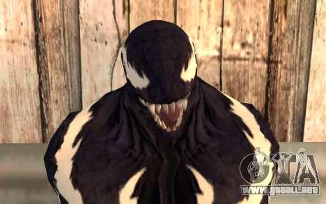 Venom para GTA San Andreas tercera pantalla