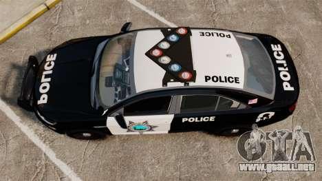 Ford Taurus Liberty State Police para GTA 4 visión correcta