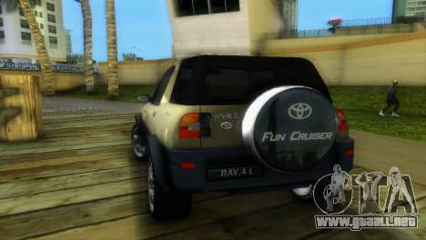 Toyota RAV 4 L 94 Fun Cruiser para GTA Vice City visión correcta