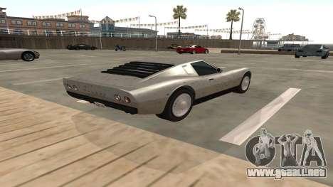 Monroe de GTA 5 para la visión correcta GTA San Andreas