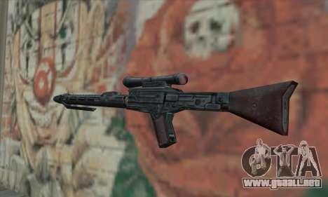 Rifle de francotirador de Star Wars para GTA San Andreas segunda pantalla