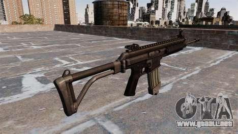 Robinson armamentos XCR Rifle para GTA 4 segundos de pantalla