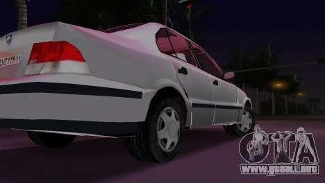 Samand para GTA Vice City vista lateral izquierdo