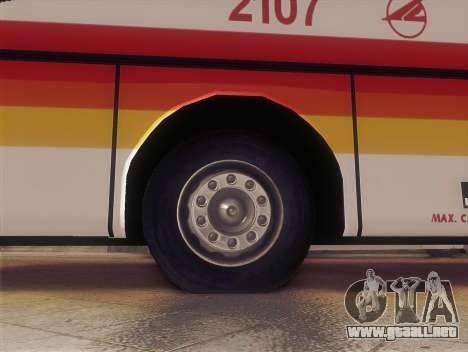 Man 14.220 (Santarosa Exfoh) - Victory Liner 210 para GTA San Andreas vista posterior izquierda