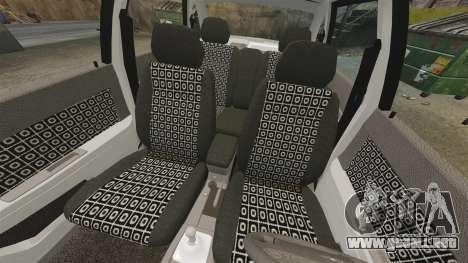 Vaz-2170 Lada Priora para GTA 4 vista superior