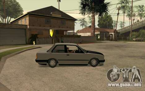 BMW E30 Stance para la visión correcta GTA San Andreas