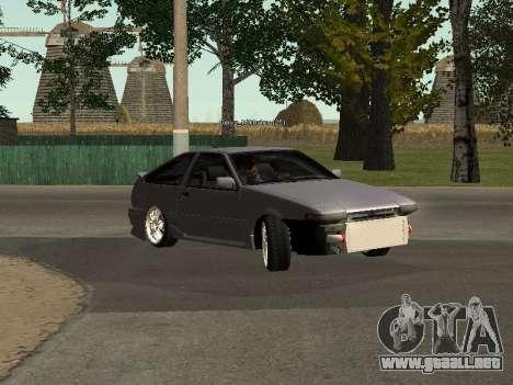 Toyota Corolla GTS Drift Edition para GTA San Andreas