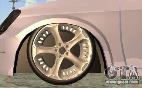 Chevrolet Celta 2010 para GTA San Andreas vista posterior izquierda