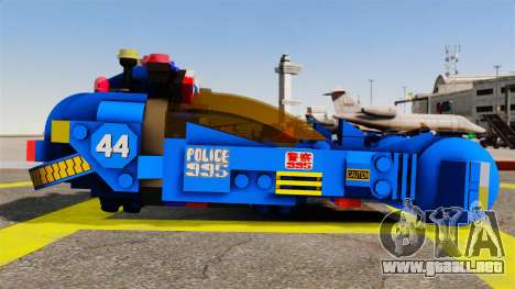 Lego Car Blade Runner Spinner [ELS] para GTA 4 left