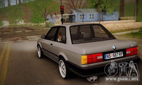 BMW M3 E30 para la visión correcta GTA San Andreas