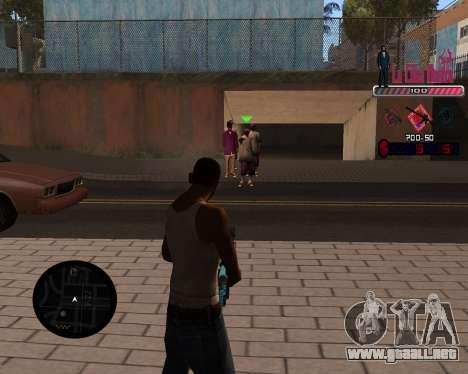 C-HUD LCN para GTA San Andreas segunda pantalla