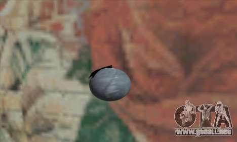 Granada de Star Wars para GTA San Andreas segunda pantalla
