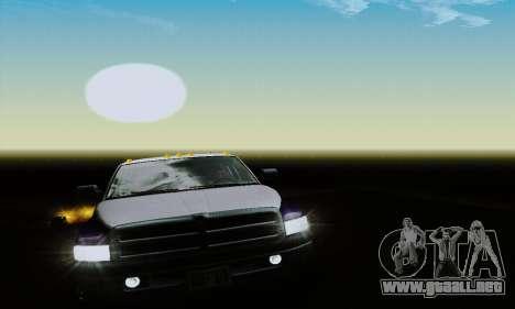 Dodge Ram 3500 para vista lateral GTA San Andreas