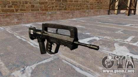 Rifle de asalto FAMAS para GTA 4