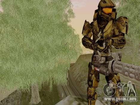 Master Chief para GTA San Andreas segunda pantalla