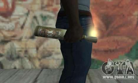 Cóctel Molotov de Saints Row 2 para GTA San Andreas tercera pantalla