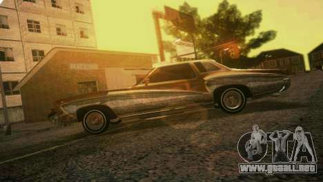 Chevy Monte Carlo Lowrider para GTA Vice City vista lateral