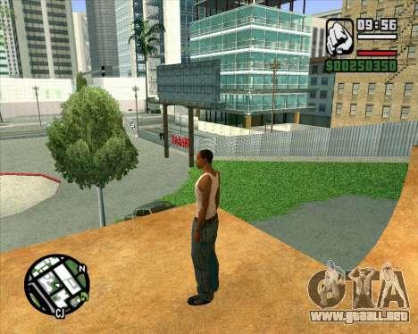 Nuevo HD Skate Park para GTA San Andreas séptima pantalla