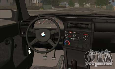 BMW M3 E30 para el motor de GTA San Andreas