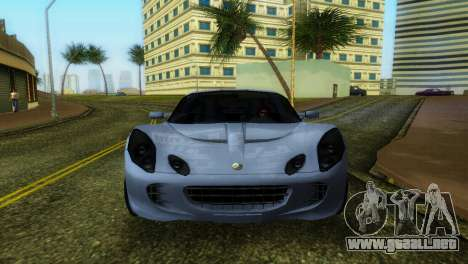 Lotus Elise para GTA Vice City left