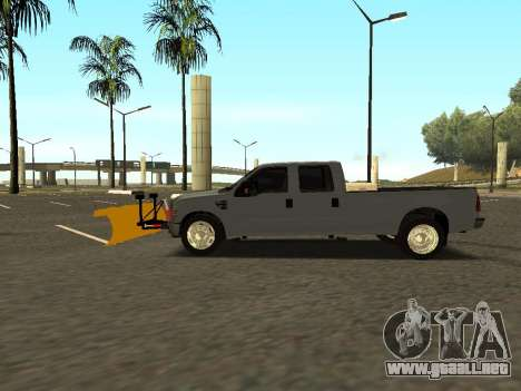 Ford F-350 para GTA San Andreas left